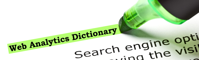 web analytics dictionary