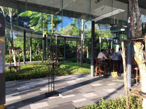 Googleシンガポールオフィスの様子
