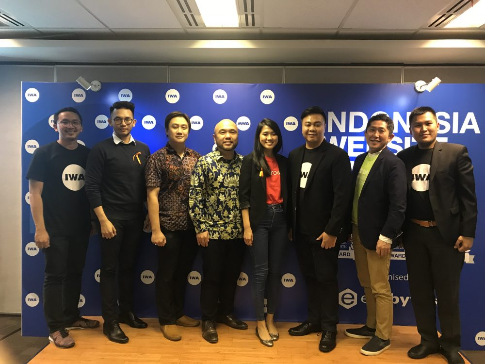Indonesia Website Awards (IWA) 2017へ出展しましたのアイキャッチ画像