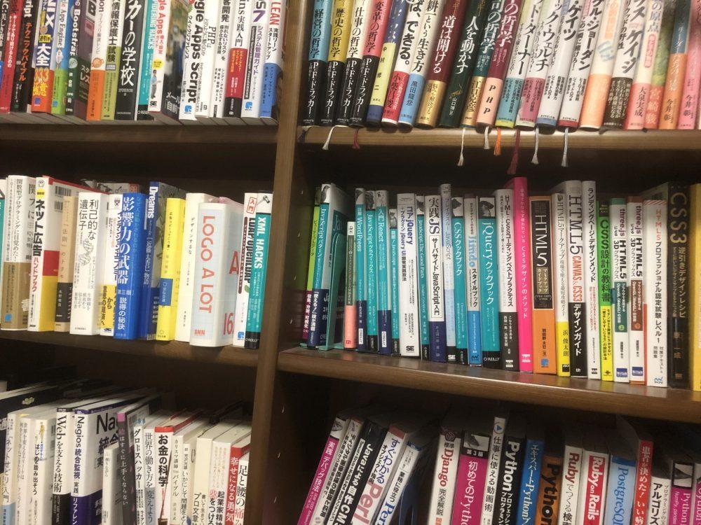 仕事場にある書庫