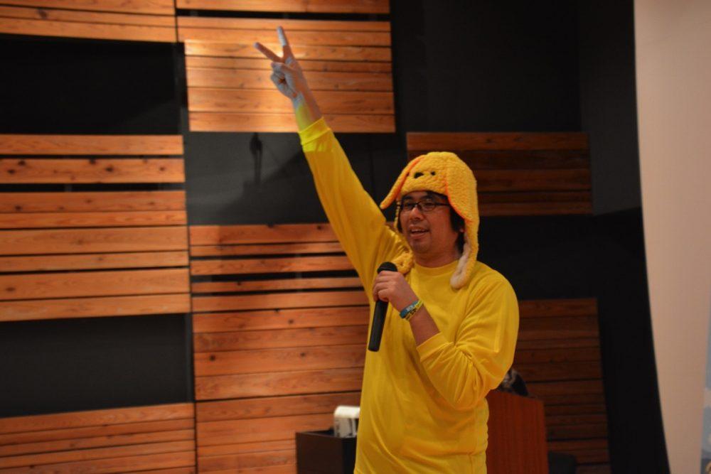 """圧倒的印象を残す""""新潟から来た黄色い人""""。上級ウェブ解析士、杉山 健一郎さんのアイキャッチ画像"""