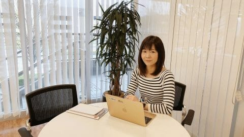写真:ウェブ解析士マスター 古橋 香緒里